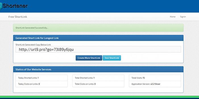 ShortLink – Mã nguồn dịch vụ rút gọn link ngôn ngữ ASP.Net