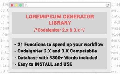 Loremipsum Generator – Mã nguồn PHP sinh văn bản tự động