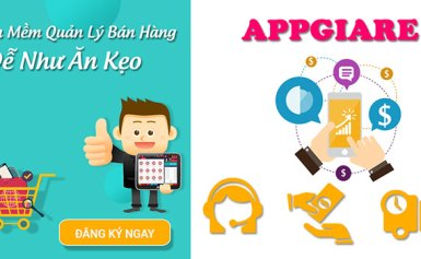 AppGiaRe – Phần mềm quản lý bán hàng chuyên nghiệp