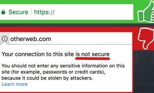 Truy cập vào website Báo Bình Định không an toàn?