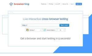 Browserling – Nhanh chóng kiểm tra trang web trên các trình duyệt