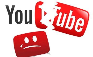 Youtube gặp sự cố ngày 17/10/2018