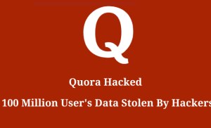 Khoảng 100 triệu tài khoản Quora bị lộ thông tin