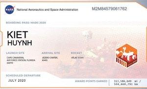 Đăng ký tên mình với NASA để được gửi tên lên sao Hỏa