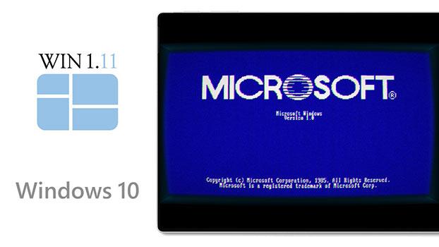 Windows 1.11 xuất hiện trên Microsoft Store