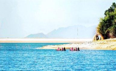 Chốn đào nguyên hồ Mỹ Thuận