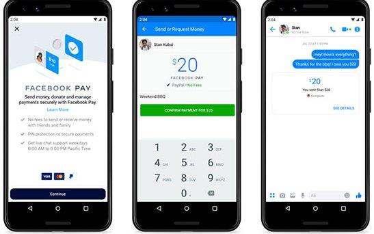 Facebook ra mắt nền tảng thanh toán mới – Facebook Pay
