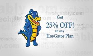 Tiết kiệm 25% hoặc 9.94 USD cho mỗi đơn hàng tại Hostgator