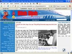 3 lần được lên báo Bình Định năm 2013