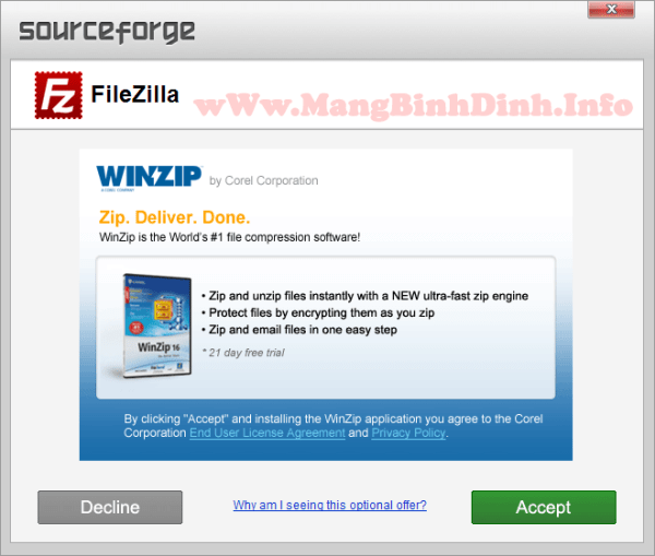 Sourceforge-co-quang-cao