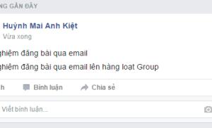Cách đăng bài hàng loạt lên nhiều group trên Facebook
