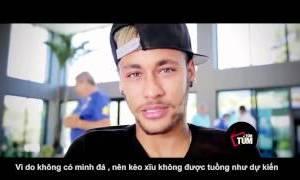 Neymar đắng lòng khi Brazil thua Đức