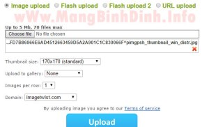 Lưu trữ, chia sẻ và kiếm tiền từ ảnh số với ImageTwist