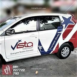 car branding stiker mobil avanza luxio bandung