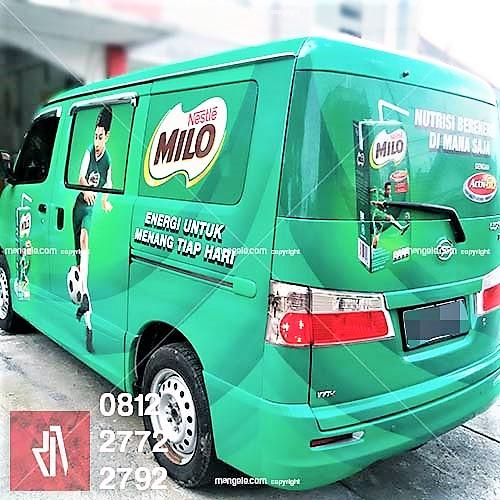 Car Branding Sticker Mobil Bandung 0812 2772 2792 Milo Luxio