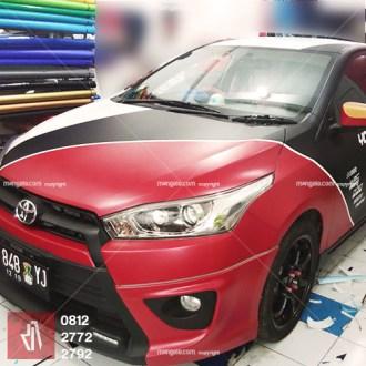 stiker mobil bandung yaris cutting yolanda wrapping premium mangele sticker pro