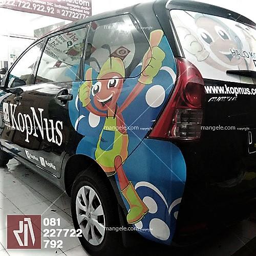 car branding stiker cutting kopnus bandung | mangele 081227722792