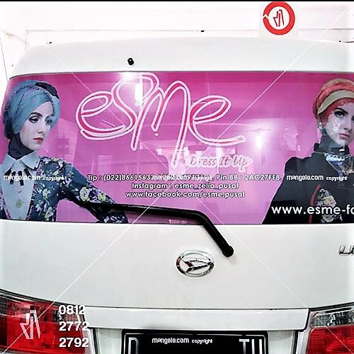 jasa stiker branding mobil di bandung | call 081227722792 | Mangele sticker