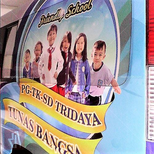 stiker mobil branding bandung Tridaya | mangele sticker 081227722792