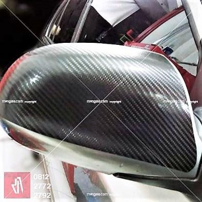 pasang carbon stiker mobil di bandung