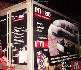 stiker branding mobil box di bandung