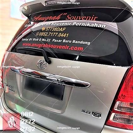 cutting stiker mobil terlaris di bandung | mangele sticker | 081227722792