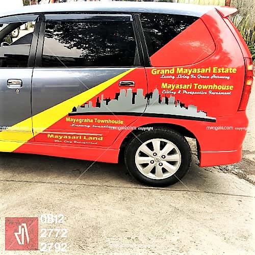 mangele stiker branding mobil terlaris di bandung | call 081227722792 | Grand mayasari