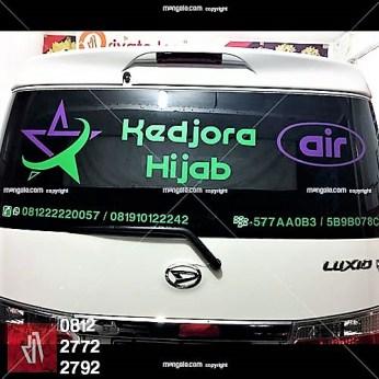 branding stiker mobil luxio di bandung   mangele sticker 081227722792