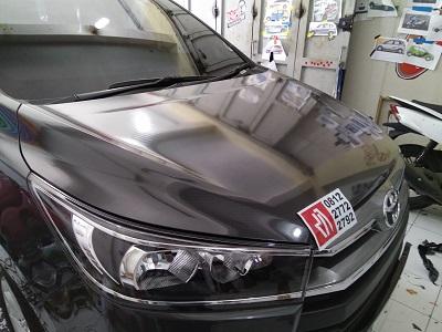 carbon stiker mobil di bandung | kap mesin | mangele 081227722792