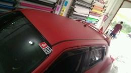 stiker-mobil-bandung-nissan-juke-red-doff-mangele