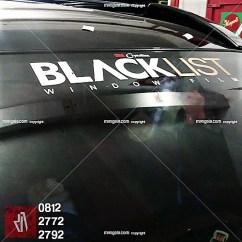 promo stiker hitam di mangele profesional wrapping bandung