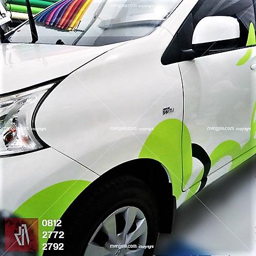 jasa desain stiker mobil branding di bandung   sticker hotel zest   mangele pro 081227722792