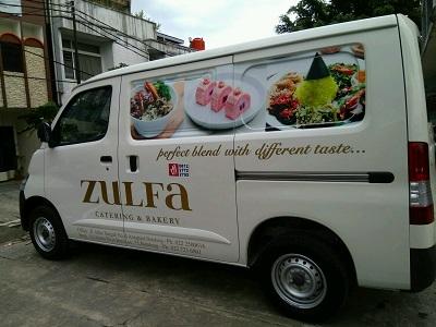 stiker mobil branding | zulfa granmax di bandung | mangele stiker 081227722792