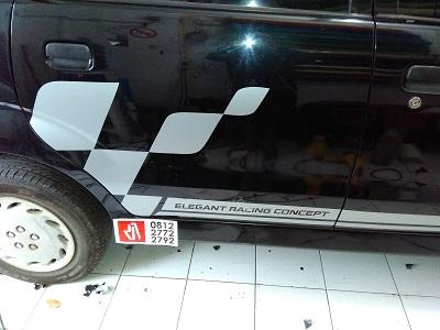 stiker cutting mobil   avanza racing flag bandung   mangele stiker 081227722792