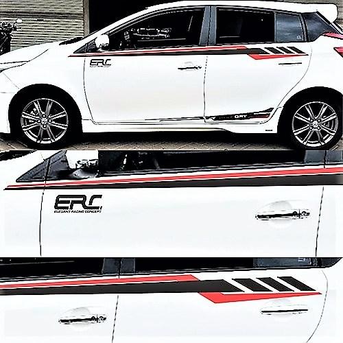 stiker cutting mobil | cutting line atas ERC konsep | mangele stiker 081227722792