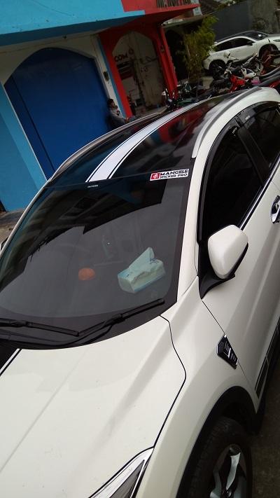 wrapping stiker mobil   atap stiker variasi HRV bandung   mangele stiker 081227722792