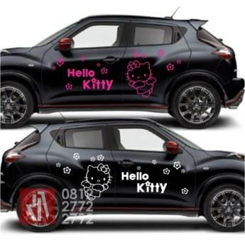 stiker-mobil-bandung-juke-hello-kitty-mangele