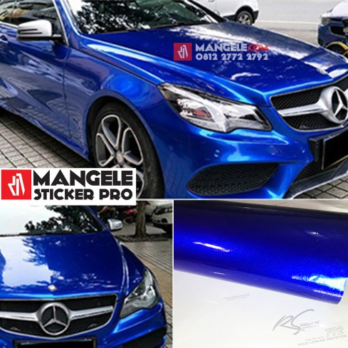 BCG-03 Blue Chrome Metallic Gloss RS Premium wrapping