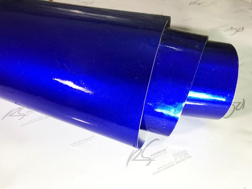 BCG-03 blue chrome metallic gloss rs premium