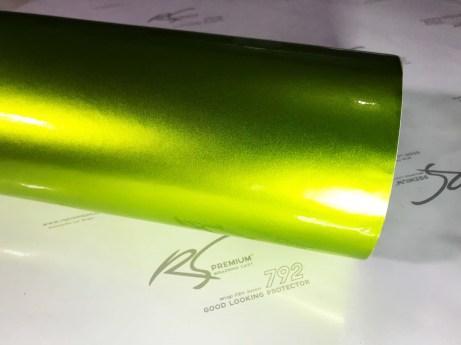 GCG-02 lime green chrome metallic gloss rs premium