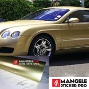 GCG-09 soft gold chrome metallic gloss rs premium