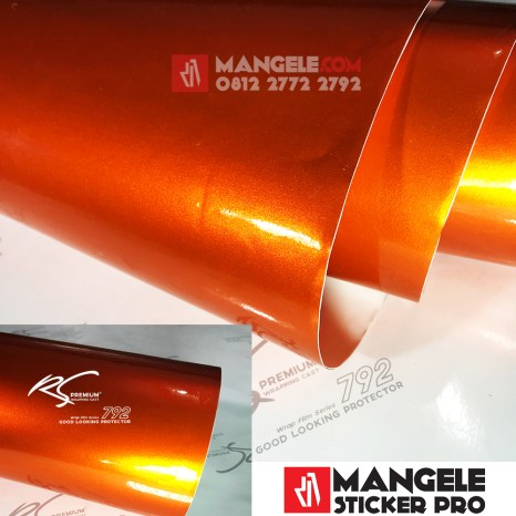 OCG 10 orange chrome metallic gloss rs premium