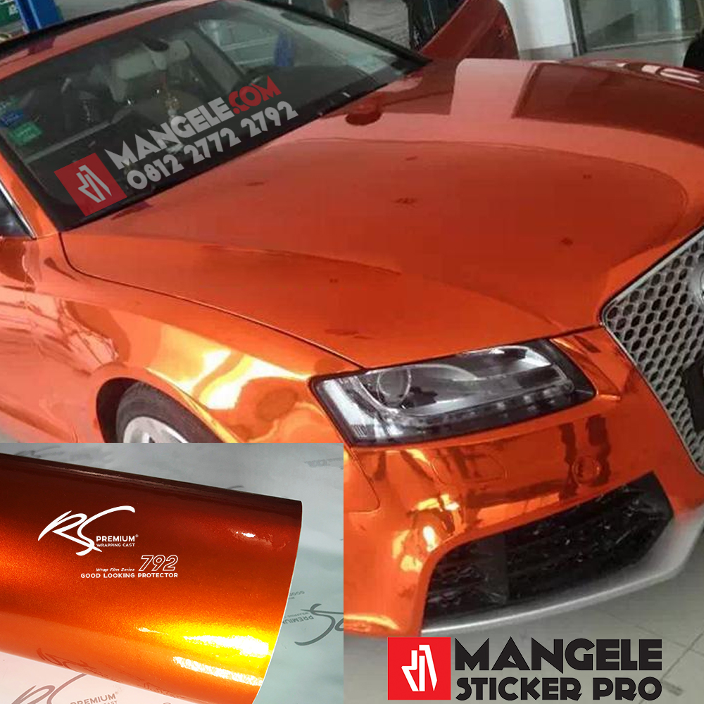 OCG-10 Orange Chrome Metallic Gloss RS Premium Wrapping