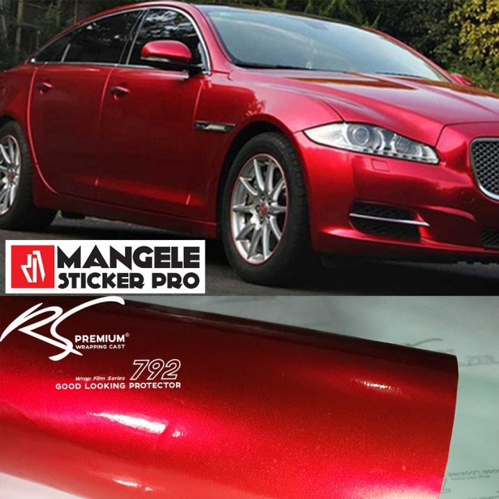 RCG-02 red chrome metallic gloss rs premium