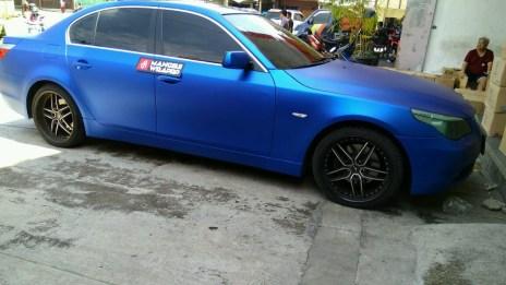 BMC-03 Blue chrome metallic matte rs premium