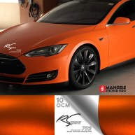 OCM-10 Orange chrome metallic matte RS Premium Wrapping