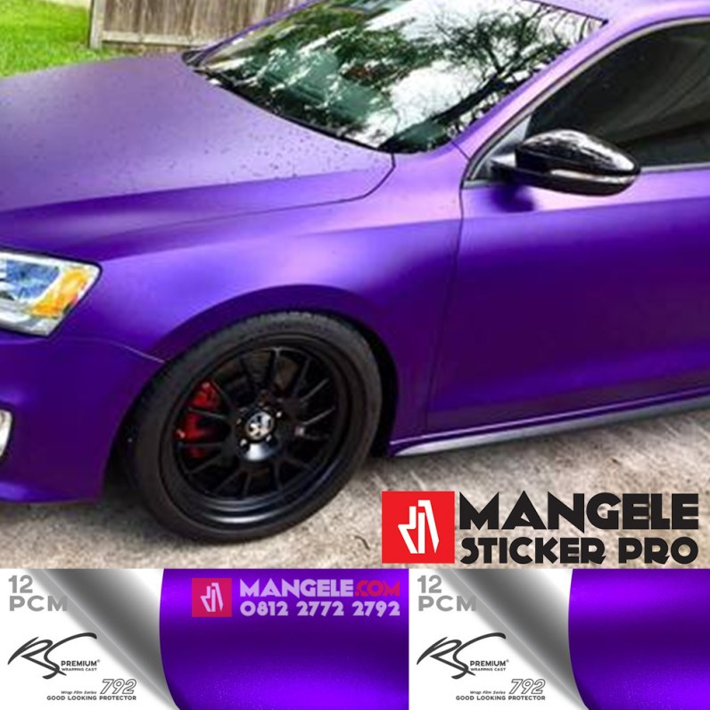 PCM-12 Purple chrome metallic matte RS Premium Wrapping