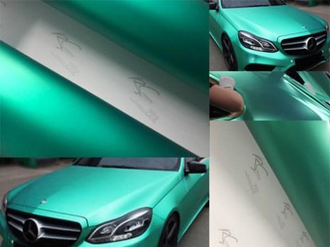 TCM-04 Turqouise chrome metallic matte RS Premium wrapping