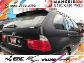 stiker mobil bandung bmw hitam doff oracal mangele
