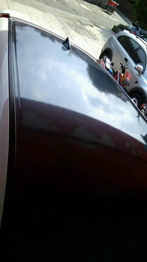 atap crv hitam metalik gloss rs premium mangele